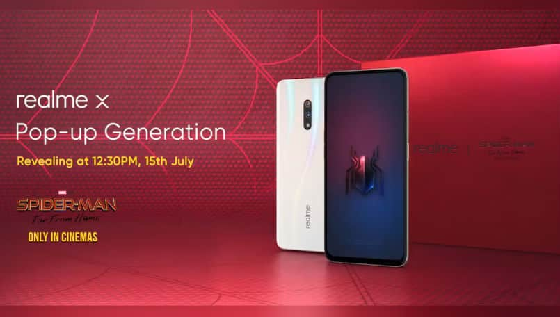 Realme X with AMOLED Display, 8GB Ram Set to Launch in India on July 15