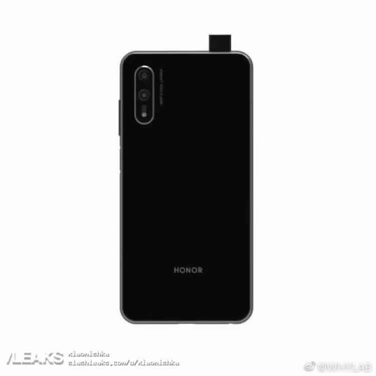 Honor 9X Pro With Pop Selfie Camera - Rander Image Leaked