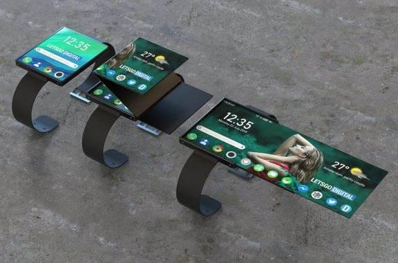 Oppo Foldable Smartwatch