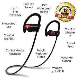 Crossfit wave- top 10 best bluetooth earphones