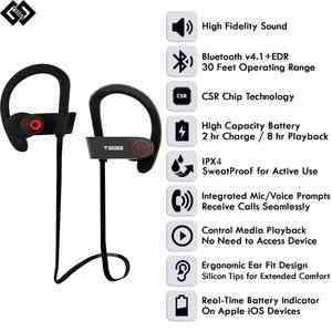 tagg wireless bluetooth earphones with mic