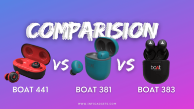 Boat Airdopes 441 vs 381 vs 383: Review, Specs and Price Comparison