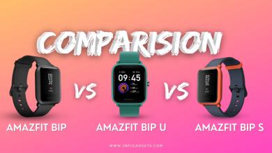 Photo of Amazfit Bip Vs Bip S Vs Bip U: Review, Specs and Price Comparison