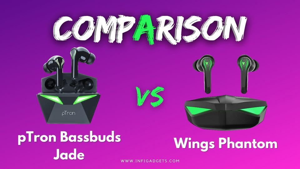 pTron Bassbuds Jade Gaming TWS Earbuds Review, Sound Quality, pros and Cons
