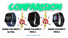 Noise Colorfit Ultra vs Noise Colorfit Pro 3 vs Noise Colorfit Pro 2: Comparison